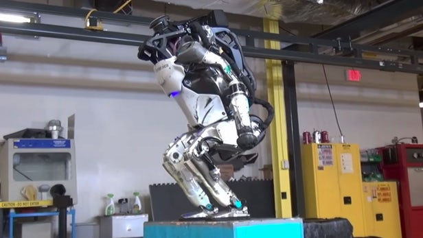 Boston Dynamics Humanoid Robot - 'Flipping' Amazing Humanoid Robot!