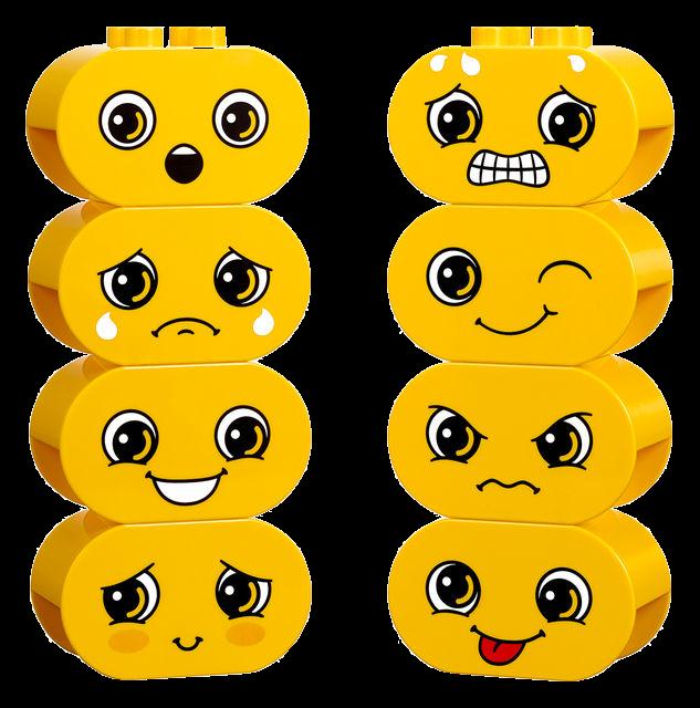 LEGO Emotions Blocks